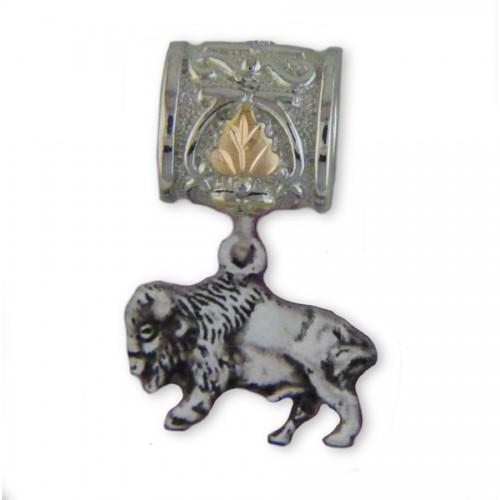 Black Hills Silver Buffalo Charm Bracelet