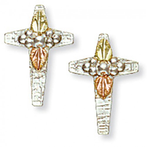 Black Hills Silver Cross Earrings