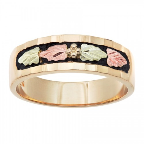 WR4. 10k Gold Antique Matching Ladies Band from Landstroms