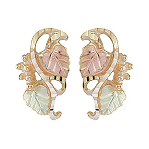 Black Hills Gold Earrings by Coleman
