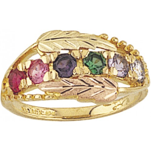 Mt.Rushmore Black Hills Gold Mothers Ring -  2 to ...