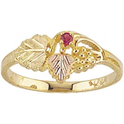 10K Gold Mothers Ring by Mt.Rushmore Black Hills G...