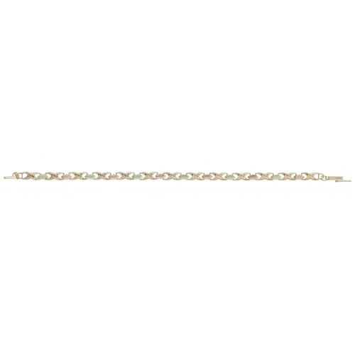 Black Hills Gold Leaf Bracelet in 10K Gold