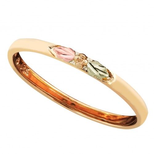 Women's Stackable Ring in 10K Yellow Gold with Pin...