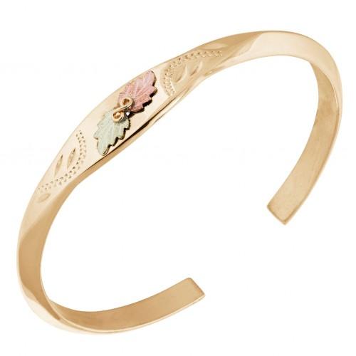 Black Hills Gold Bangle Bracelet