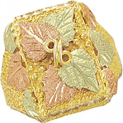 Landstrom Black Hills Gold Mens Ring