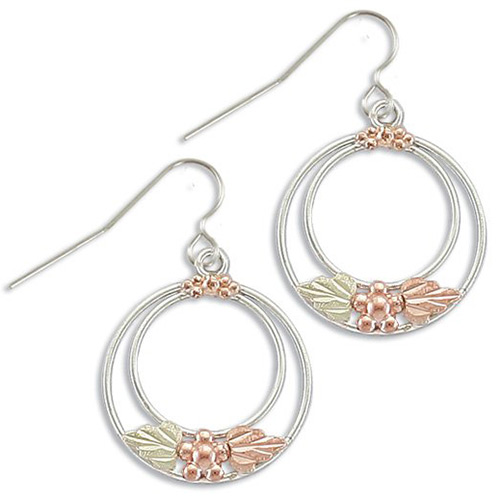Black Hills Silver Circle Earrings