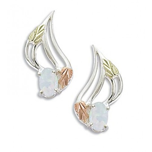 Black Hills Silver Opal Earrings