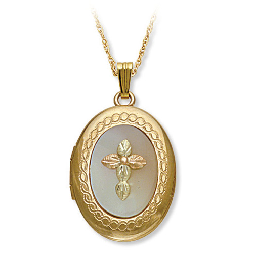 Mother of Pearl Black Hills Gold Locket