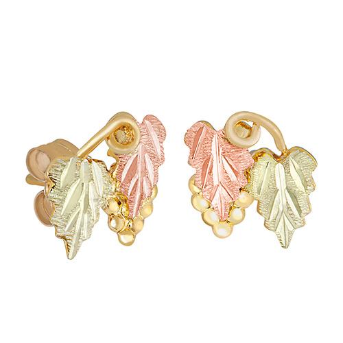 Landstroms Black Hills 10k Gold Post Earrings
