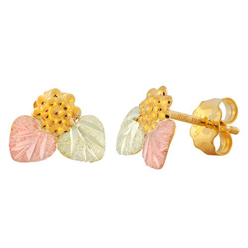 Landstroms Black Hills Grape Earrings