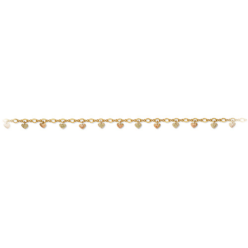Black Hills Gold Leaf Anklet