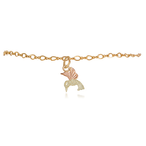 Black Hills Humming Bird Anklet