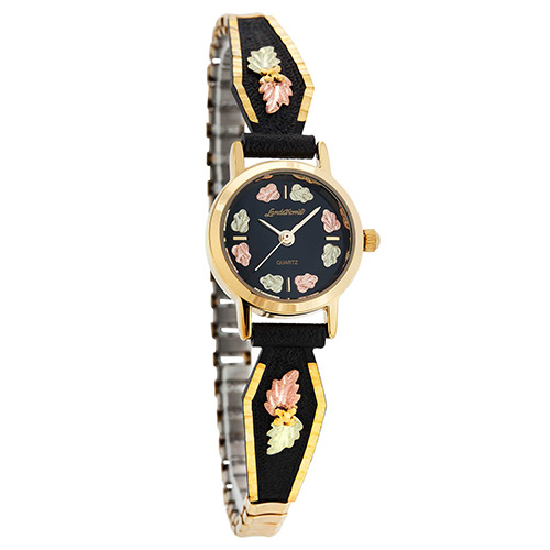 BlackHillsGold Powder Coated Ladies Watch