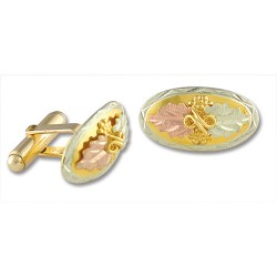 10K Black Hills Gold Cuff Links