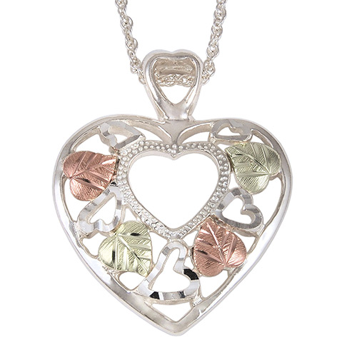 Black Hills Silver Heart Pendant
