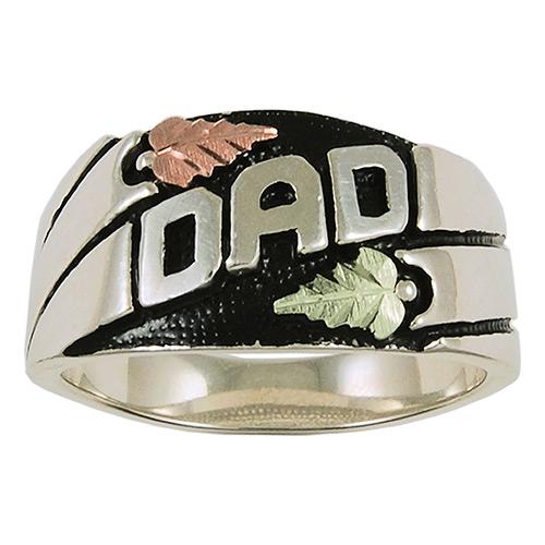 Black Hills Silver Dad Ring