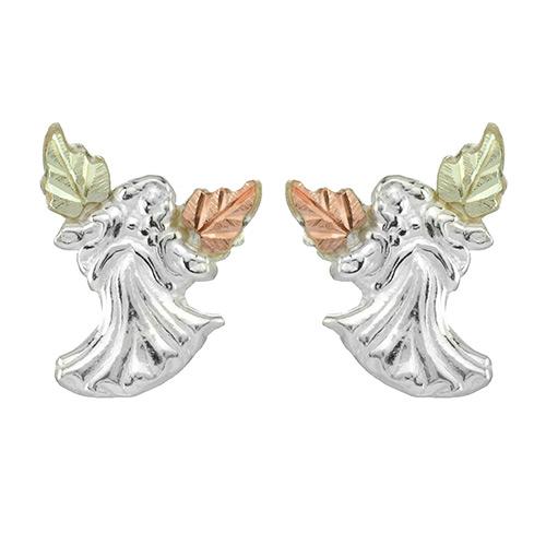 Angel Black Hills Silver  Earrings