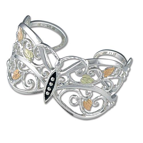 Black Hills Silver Butterfly Bracelets