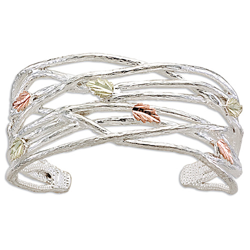 Black Hills Silver Grape Twigs Bracelets