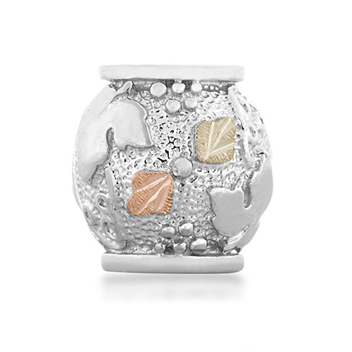 Landstroms Charm Bead made of Sterling Silver
