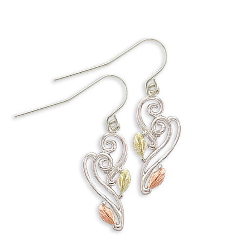 Landstroms Sterling Silver Shepherd Hook Earrings