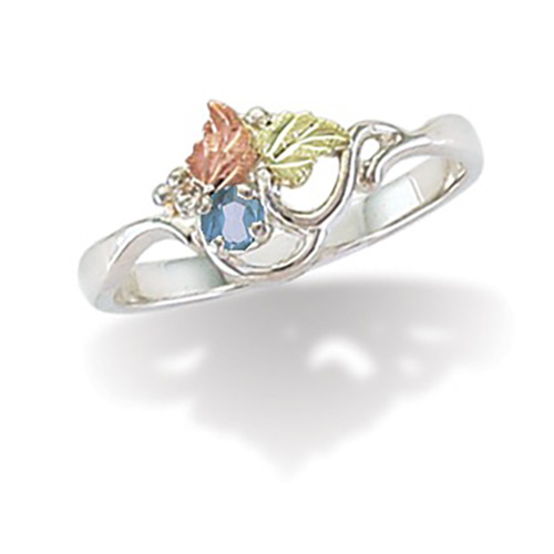 March Birthstone Ring