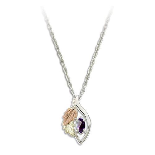 June Birthstone Necklace