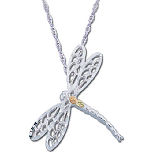 Black Hills Silver Dragonfly Pendant